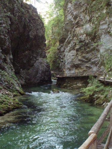 Soutěska Vintgar